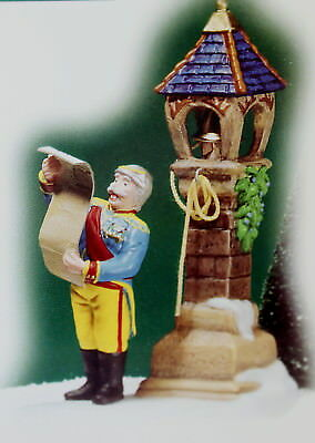 "Department 56 Alpine Village ""Hear Ye, Citizens"" NEW"