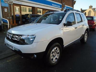 2015 15 Dacia Duster 1.5 Ambiance Dci 5D 107 Bhp Diesel White 27000 Miles