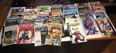 Spider-Man 43 Comic lot - Amazing, Ultimate, 2099, Avenging, Spider Island