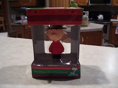 Peanuts Christmas Tree Ornament`CHARLIE BROWN~ NEW IN THE BOX