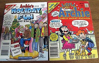 Little Archie Comics Digest  #29 & Archie's Holiday Fun #8