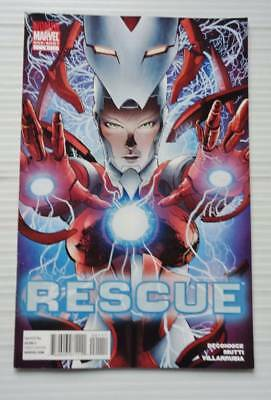 RESCUE #1 ONE SHOT - - Marvel 2010. PEPPER POTTS FROM IRON MAN -  VF
