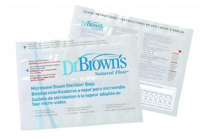 Dr Brown's Microwave Steriliser Steam Bags