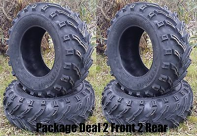 ATV Quad Tyre Package (2 front 2 rear) 25x8-12, 25x10-12 Forerunner MARS 6ply
