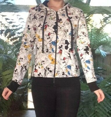 Ladies/Girls Mickey Mouse zip up Jacket Girls Size 12-14/Ladies 8 - Disney Brand
