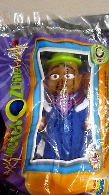 "New Nickelodeon Cousin Skeeter Burger King Plush Toy / 5"" Tall/ Rare to Find!"