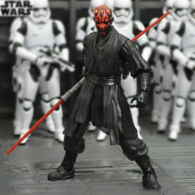 """US SHIP Darth Maul:Star Wars The Black Series 6""""Action Figure Gift New In Box"""