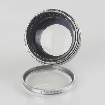 Carl Zeiss Sonnar 5cm f1.5 1:1,5 for Contax f11 version
