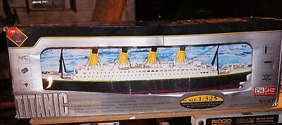 NQD Titanic RC boat 1/325 scale Ocean Liner LED 80cm 31inch RTR