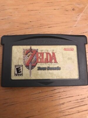 Legend of Zelda: A Link to the Past Nintendo Game Boy Advance, 2002 Four Swords
