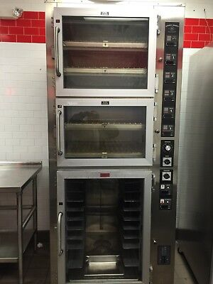 Piper Products 3 Door Convection Oven / Proofer - Individually Temp Controlled
