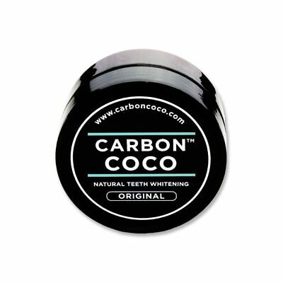*NEW* Carbon Coco natural teeth whenting ACTIVATED CHARCOAL TOOTH POLISH 40G