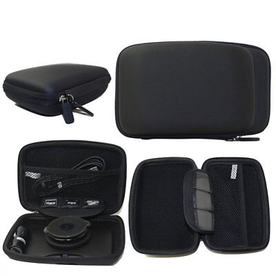 "Hard Carry Case Cover 6"" In Car Sat Nav Holder For GPS TomTom Start 60 Garmin"