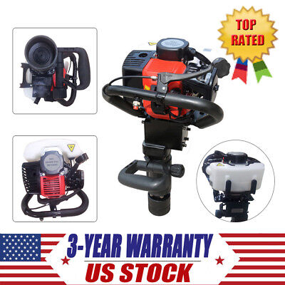 32.5cc Gasoline Push Pile Driver for Fencing Star Pickets Posts Pipe Driving NEW