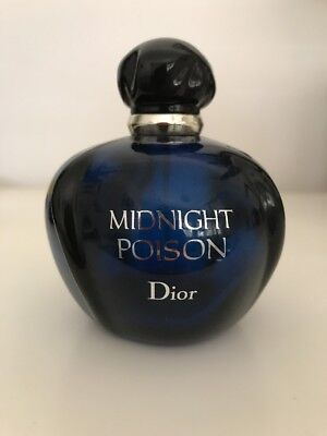 Midnight Poison Perfume Bottle - EMPTY