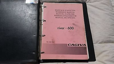 Cagiva River 600 Official Factory Workshop Manual