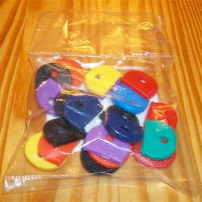 Colorful 30 pcs Key Top Covers Head/Caps/Tags/ID Markers Mixed Toppers