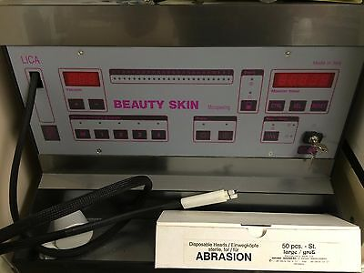 LICA Beauty Skin Micropeeling Gerät Professionell Made in Italy