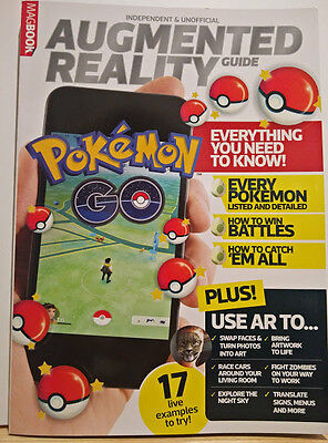 Pokemon Go Augmented Reality Magazine featuring over 60 pages