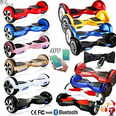 6,5/8,0/10 Zoll Bluetooth Hoverboard E-Scooter E-Balance Scooter + Tasche + APP*