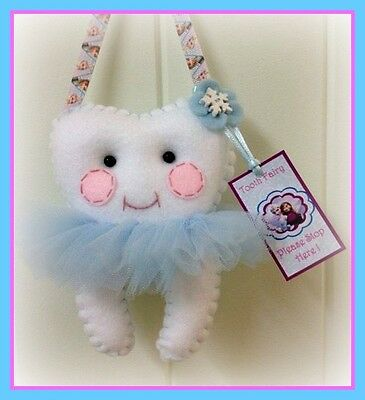 Tooth Fairy Pillow - Frozen Inspired 2 - **Lost Tooth Goes In Back Pocket**