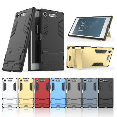 best loved 8fa70 94a77 FOR SONY XPERIA XA1 Plus Case Hard Kickstand Protective Slim Phone ...
