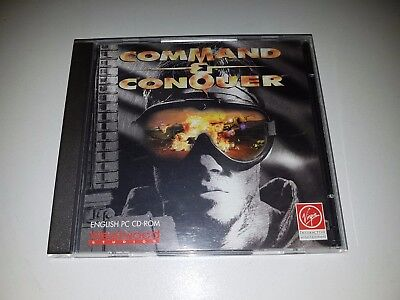 COMMAND AND CONQUER PC CD ROM Game