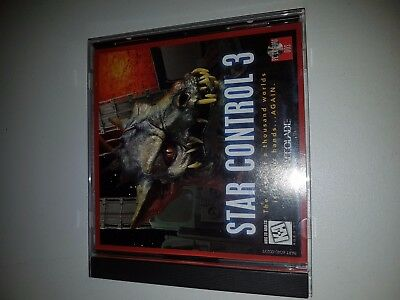 STAR CONTROL 3 PC CD ROM Game