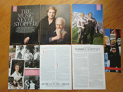 Julie Andrews 13 clippings