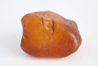 琥珀蜜蜡原石 raw amber stone 34.5g butterscotch drop 100% natural Baltic 天然波罗的海琥珀蜜蜡