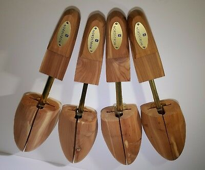 Two Pair of NORDSTROM Cedar Shoe Trees  MEN'S SIZE LARGE