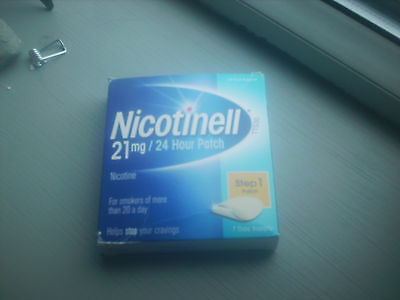 NICOTINELL 21mg/24 hour patch 7 day supply