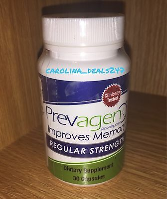 Prevagen 30 CT Improves Memory Regular Strength Quincy Bioscience Sealed