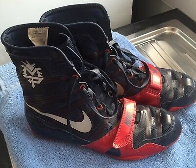 Mens Nike Flywire Hyper Ko Boxing Boots, UK 7.5 Manny Pacquiao  Special Edition