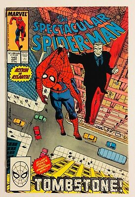 Spectacular Spider-Man #142 NM+ (1988) Tombstone
