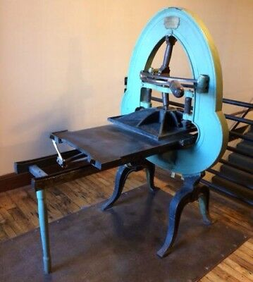 Otis Tufts Antique Printing Press