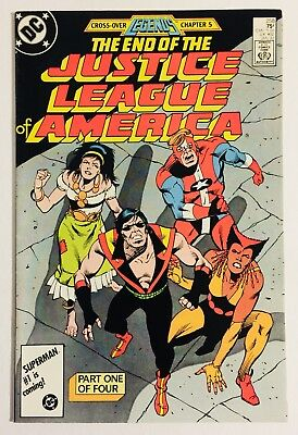 Justice League of America #258 (1960 1st Series) MN+