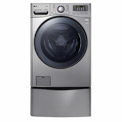 LG TWIN171215S TwinWash      with TrueSteam 15kg/8kg Washer Dryer Combo with ...