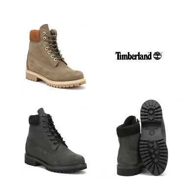 Timberland Mens Forged Iron Grey Brown Wheat 6 Inch Premium Boots Size 6 - dc774399e27