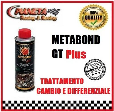 Additivo Metabond GT PLUS Trattamento cambio differenziale ingranaggi auto moto