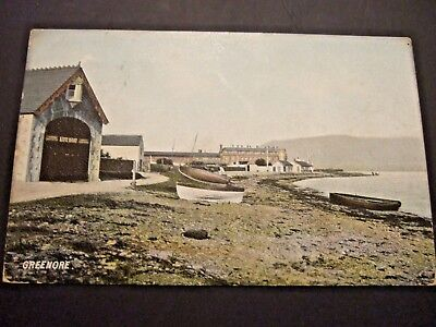Ireland Co Louth GREENORE LIFEBOAT STATION, HARTMANN PC,  PM WARRENPOINT 1905
