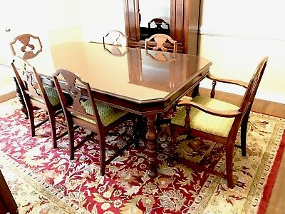 Union Furniture Co. Dining Room Set (circa 1930s?)