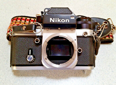 5 DAY! - FREE PRIORITY MAIL - Nikon F2 Photomic SLR Camera - body only