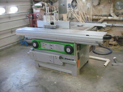 Felder KF700 professeional Sliding Table Saw and Shaper Combination