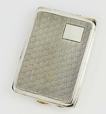 FINE Antique SILVER PLATED MATCHBOOK CASE c1920