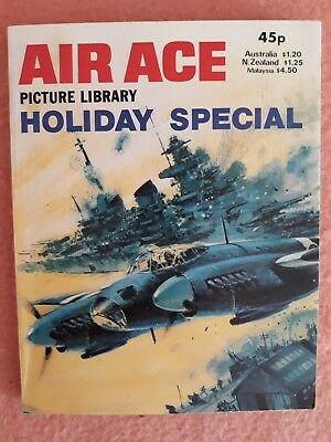 Air Ace Picture Library Holiday Special 1981 EXCELLENT CONDITION PB