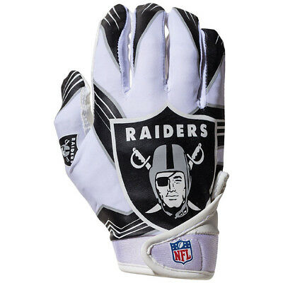Oakland Raiders Youth Receiver Gloves