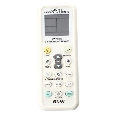 Universal LCD Screen A/C Remote Controller for Air Conditioner K-1028E R7I9 F1O8