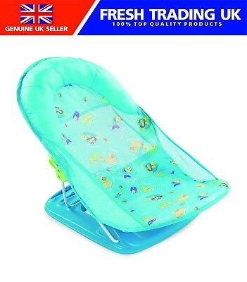 Summer Infant Deluxe Baby Bather - Splash Blue