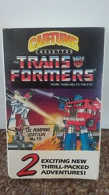 Transformers Car Tune CASSETTE TAPE 1985 Hard to Find OPTIMUS MEGATRON